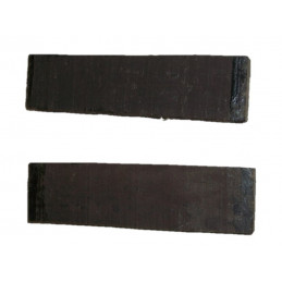East Indian Ebony Bridge Blank SS A