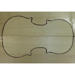 2A Englemann Spruce Violin Soundboard