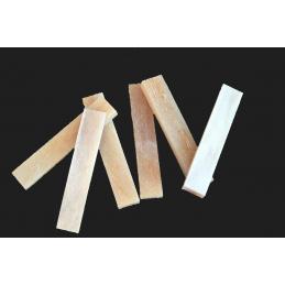 unlbeached bone nut blanks