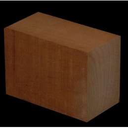 Spanish Cedar Heel Block