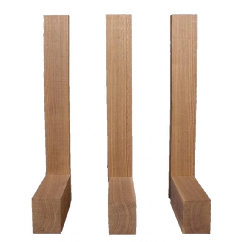 Spanish Cedar Neck & Heel Block Combo