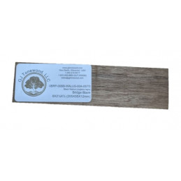 Black Walnut Bridge Blank- OVERSIZED